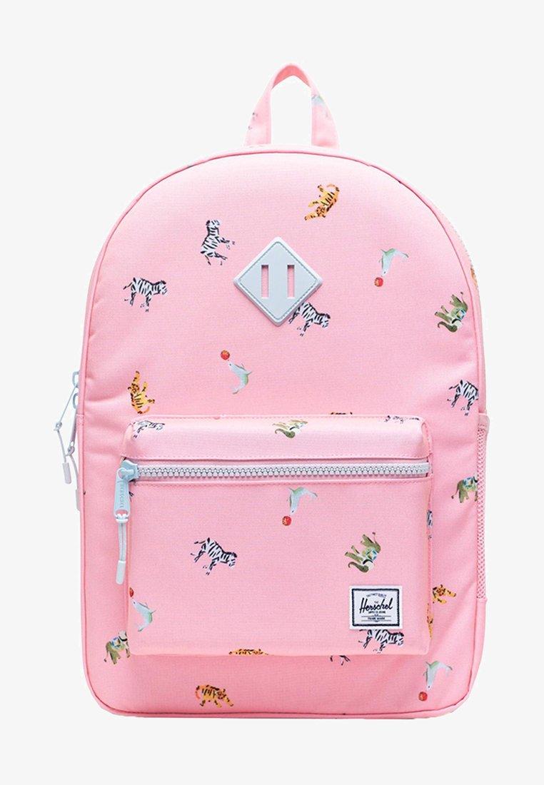 Herschel - School bag - candy pink circus animals