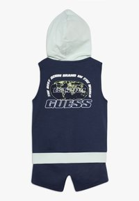 Guess - ACTIVE SET - Waistcoat - bleu - 1