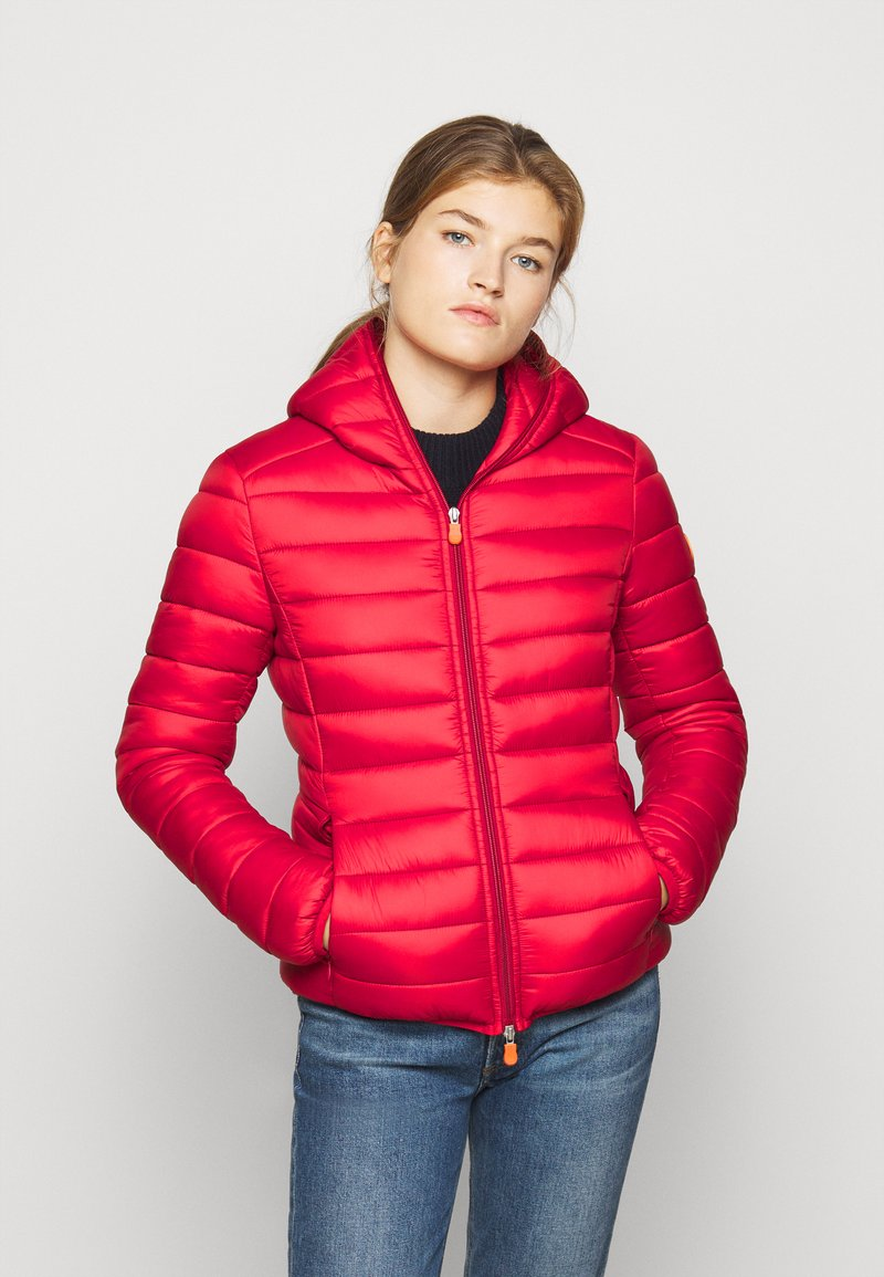 Save the duck - GIGAY - Winter jacket - tango red