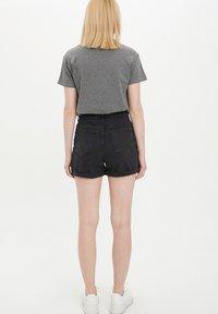 DeFacto - Shorts vaqueros - black - 2