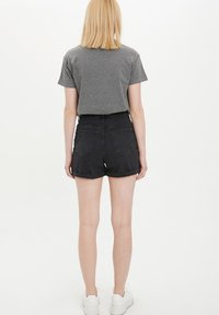 DeFacto - Denim shorts - black - 2