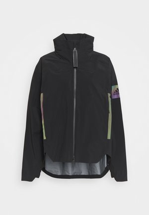 MYSHELTER RAIN.RDY  - Waterproof jacket - black/rainbow reflective