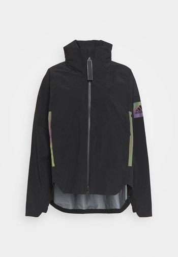 MYSHELTER RAIN.RDY  - Waterproof jacket - black/rainbow reflective