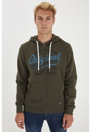 REGULAR FIT - Zip-up hoodie - rosin