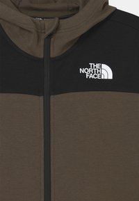 The North Face - SLACKER FULL ZIP HOODIE UNISEX  - Zip-up hoodie - green/black - 2