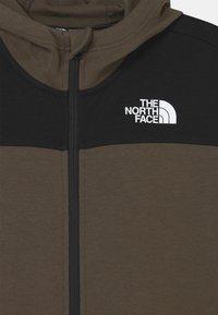 The North Face - SLACKER FULL ZIP HOODIE UNISEX  - Mikina na zip - green/black - 2