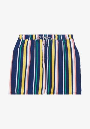 JJIARUBA STRIPE - Swimming shorts - navy blazer