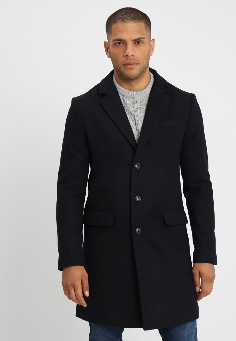 Pier One - Classic coat - dark blue