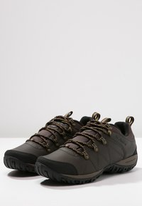 Columbia - PEAKFREAK VENTURE WP - Hiking shoes - dark brown - 2