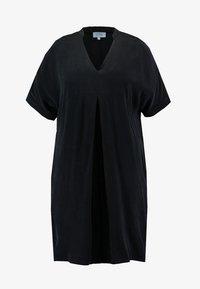 Live Unlimited London - MANDARIN COLLAR DRESS - Day dress - black - 3