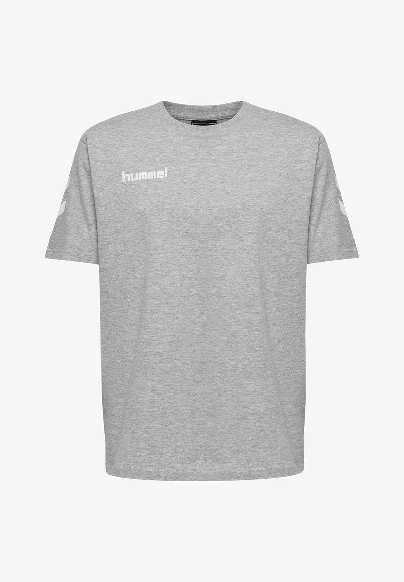 Hummel - HMLGO - Print T-shirt - grey melange