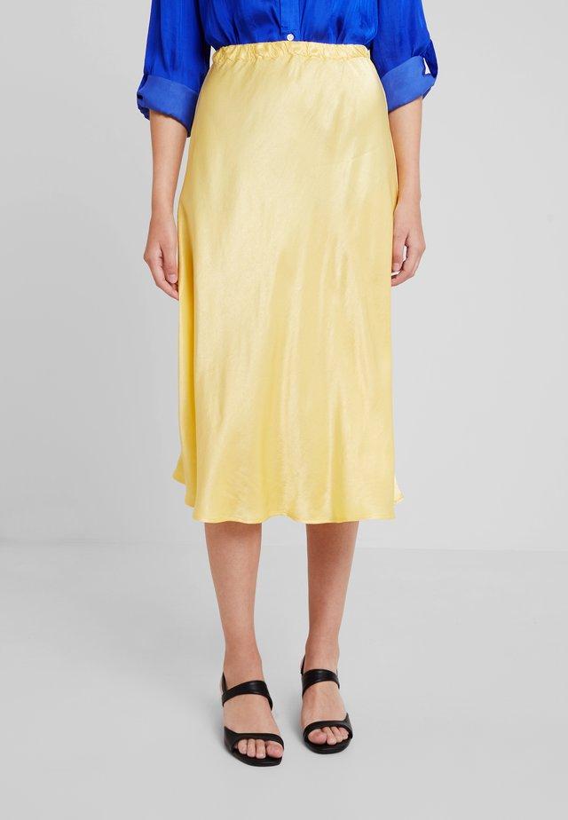 JOSIE SKIRT - A-linjainen hame - yellow