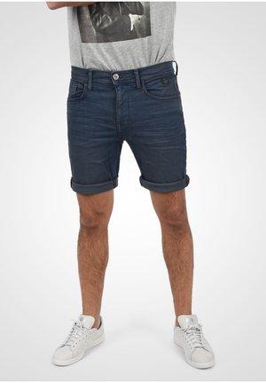Denim shorts - denim black blue