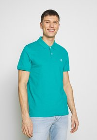 Selected Homme - SLHARO EMBROIDERY - Polo shirt - quetzal green - 0