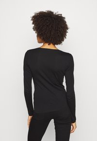 Guess - CAMILLA  - Long sleeved top - jet black - 2