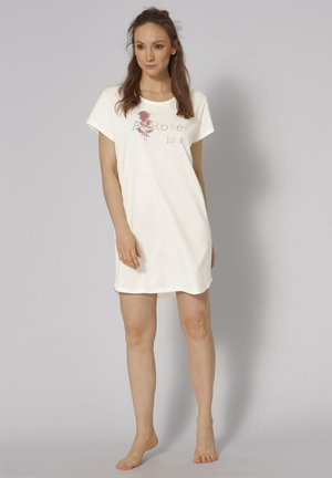 NIGHTDRESSES - Nightie - silk white