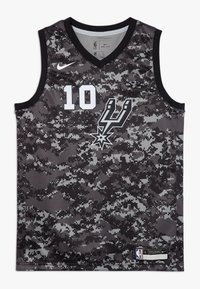 Nike Performance - NBA DEROZAN DEMAR SAN ANTONIO SPURS CITY EDITION SWINGMAN  - Squadra - black - 0