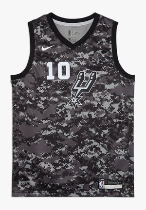 NBA DEROZAN DEMAR SAN ANTONIO SPURS CITY EDITION SWINGMAN  - Squadra - black