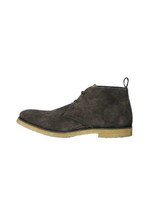 CHUKKA - Lace-up ankle boots - charcoal grey