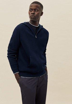 NEWTON - Zip-up hoodie - dunkles marineblau