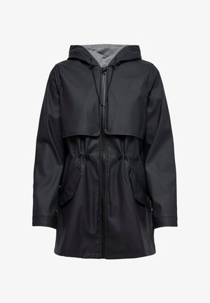 ONLRACE SHORT RAINCOAT - Parka - dark blue