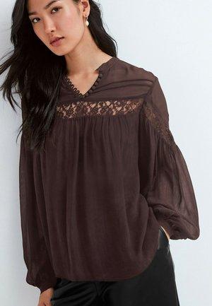 Tunic - dark brown