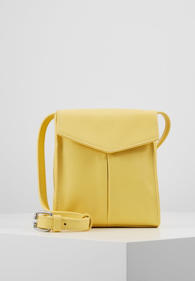 BAG SHOULDER STRAP - Borsa a tracolla - yellow