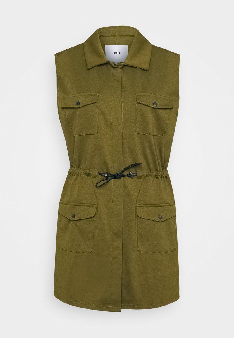 ICHI - IHKATE SPORT - Waistcoat - fir green