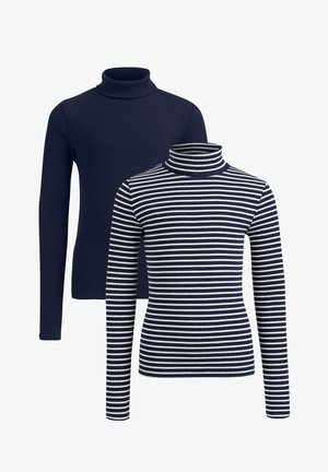 2-PACK - Long sleeved top - blue