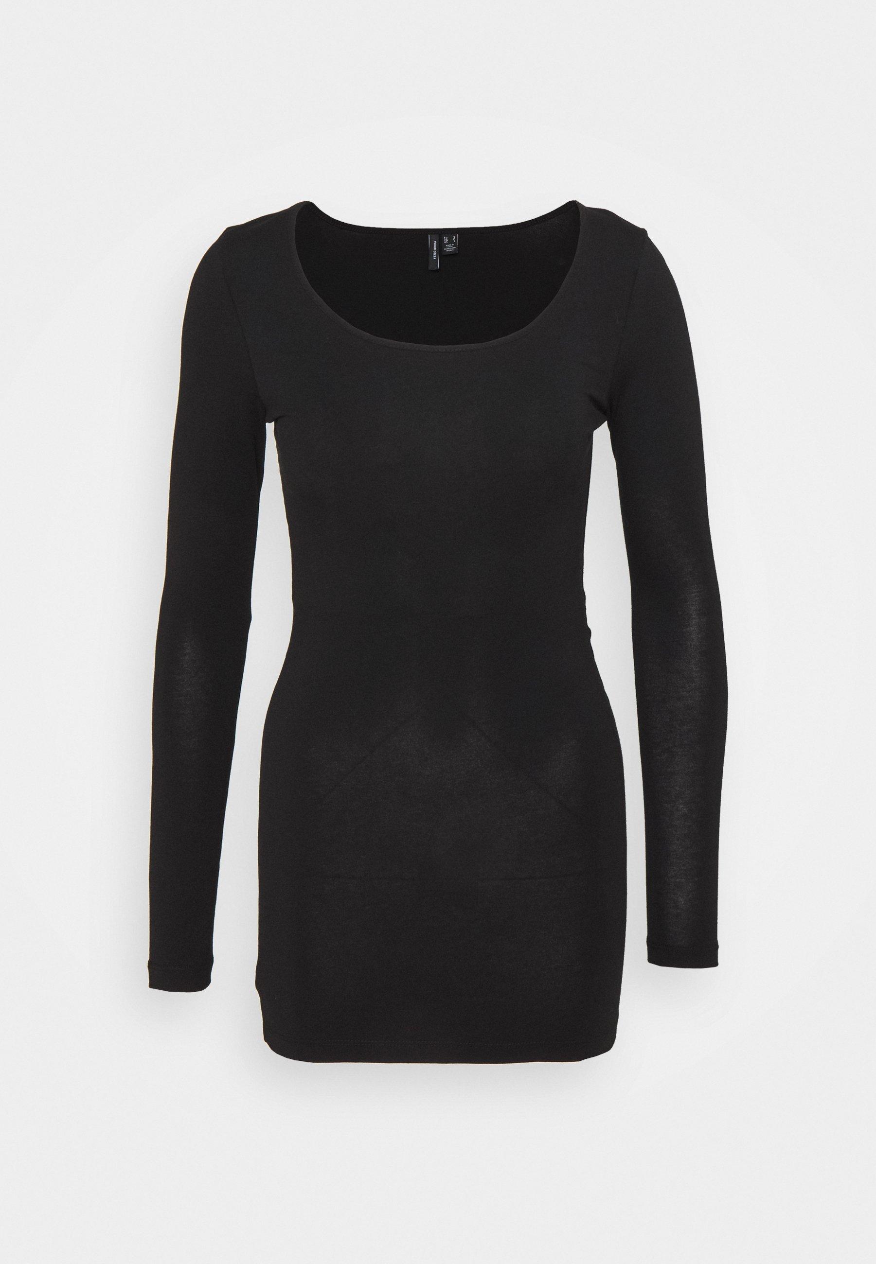 Donna VMMAXI SOFT LONG - Maglietta a manica lunga