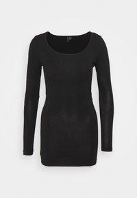 Vero Moda Petite - VMMAXI SOFT LONG - Long sleeved top - black - 0