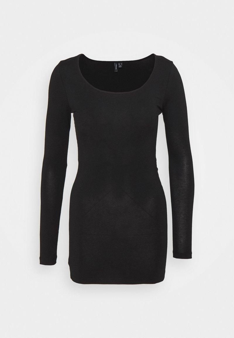 Vero Moda Petite - VMMAXI SOFT LONG - Long sleeved top - black