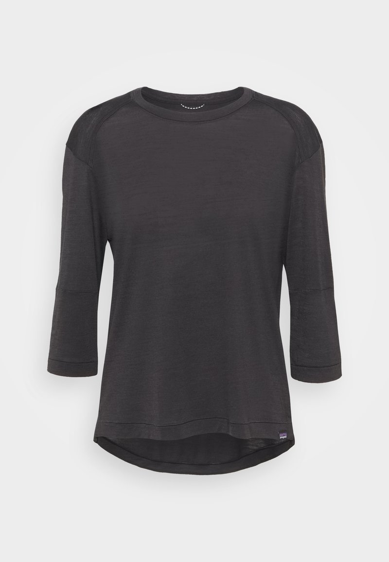 Patagonia - SLEEVE BIKE - Long sleeved top - black