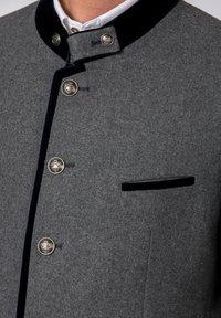Stockerpoint - QUINTUS - Blazer jacket - stone-night blue - 5