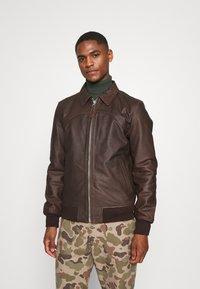Schott - CALIFORNIA - Leather jacket - brown - 0