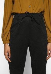 ONLY Petite - ONLPOPTRASH EASY PANT - Trousers - black - 5