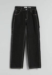 Bershka - Flared Jeans - dark grey - 5