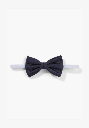 MIT JACQUARDMUSTER - Bow tie - dark blue
