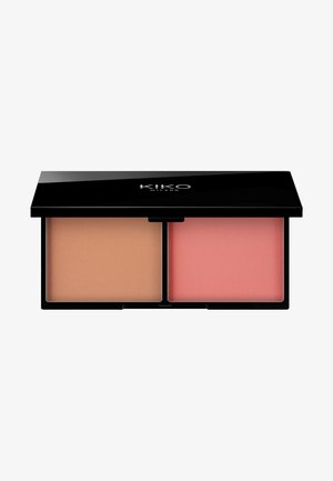 SMART BLUSH AND BRONZER PALETTE - Gezichtspalet - 03 sienna and brick
