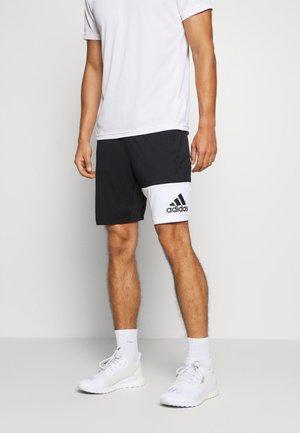 4K GEO SHORTS - Pantalón corto de deporte - black