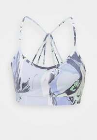 PRINTED STRAPPY FRONT BRA REMOVABLE CUPS - Light support sports bra - spearmint