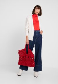 Soaked in Luxury - HANADI ROLLNECK  - Long sleeved top - red - 1