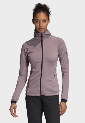 STOCKHORN HOODED JACKET - Zip-up hoodie - purple