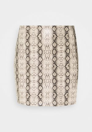 EVA SKIRT - Pencil skirt - tan