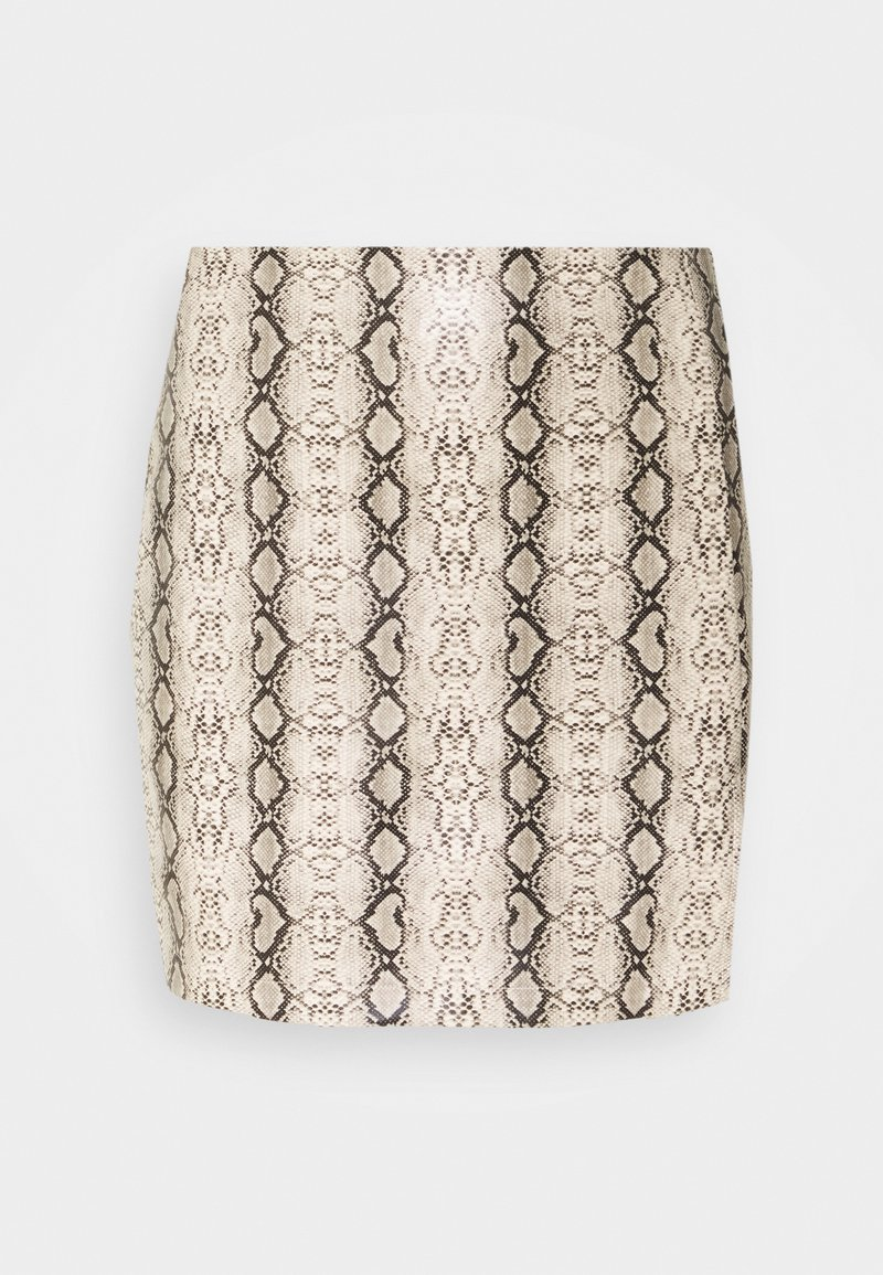 4th & Reckless - EVA SKIRT - Pencil skirt - tan