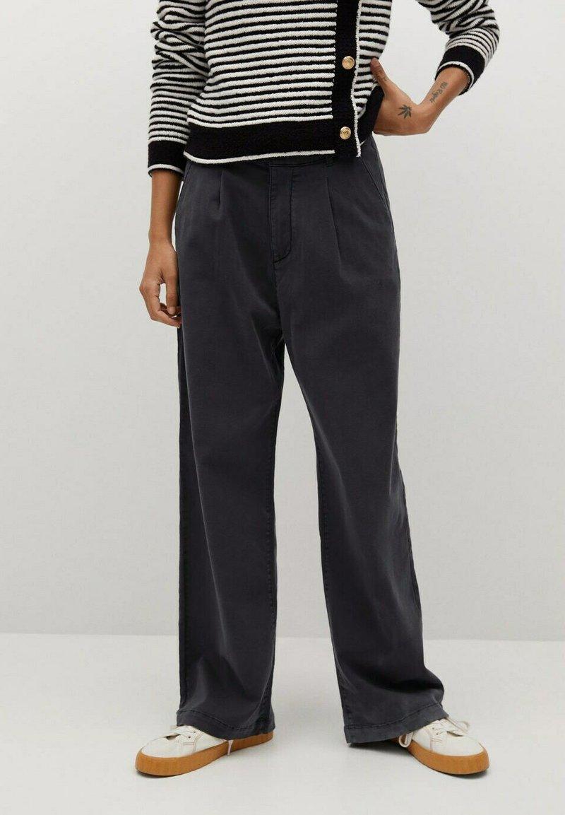 Mango - FILIPPO - Trousers - zwart