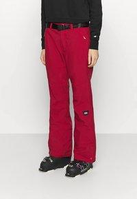 O'Neill - STAR PANTS - Ski- & snowboardbukser - rio red - 0