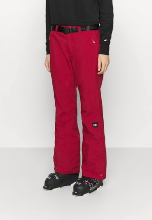 STAR PANTS - Schneehose - rio red