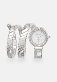 Just Cavalli - DROUBLE WRAP WATCH - Watch - silver-coloured/white - 0