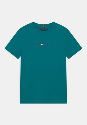 ESSENTIAL LOGO UNISEX - T-shirt z nadrukiem - breakaway teal